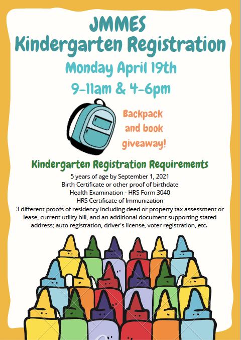Kindergarten Registration  21_22