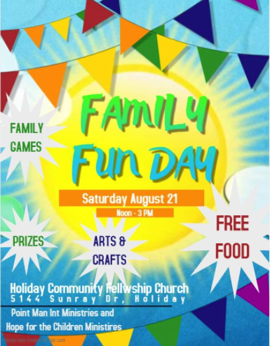 Family Fun Day_August 21st